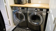 1000 images about laundry room on pinterest laundry rooms counter tops and front load washer. Black Bedroom Furniture Sets. Home Design Ideas