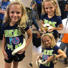 Look at the smile on this little girls face holding a snake for the first time at Reptile Rapture. Reptile Store, Girl Face, Reptiles, First Time, Snake, Little Girls, Kids, Women, Fashion