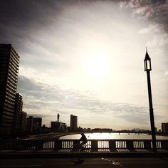 The street in Niigata : www.pajama-days.com #iphotography #art #holidays #asia #street #city #Japan #Niigata #Autumn