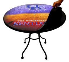 #KentuckyWildcats #MagneticSkins Bucket Table Kits / #KentuckyWildcatsBasketball Lift/ #PatioTable #GamesRoom #Tailgate