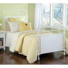 Kensington Iron Bed in White
