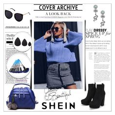 """shein 5/X"" by amina-haskic ❤ liked on Polyvore"