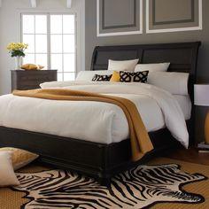 HGTV Home Caravan Sleigh Bed & Reviews | Wayfair
