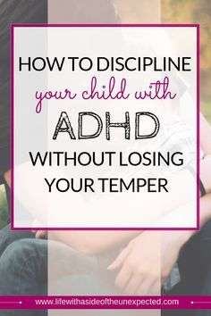 How to Discipline an ADHD Child without Yelling Learn how to discipline your child with ADHD without losing your temper. Positive parenting tips and behavioral management tools that work for kids with ADHD. Gentle Parenting, Parenting Quotes, Parenting Advice, Kids And Parenting, Autism Parenting, Adhd Help, Adhd Strategies, Positive Discipline, Child Discipline