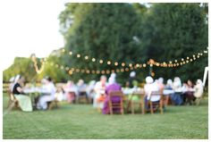 backyard garden party/ ladies night out