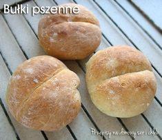 BUŁKI PSZENNE Hamburger, Food And Drink, Bread, Blog, Hamburgers, Brot, Breads, Baking, Burgers