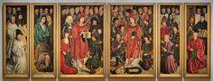 Nuno Gonçalves, Saint Vincent panels, Lisbon, Portugal, 1460s Art And Illustration, Panel Art, Tempera, 15th Century, Wood Paneling, Middle Ages, Art And Architecture, Art Forms, Modern Art