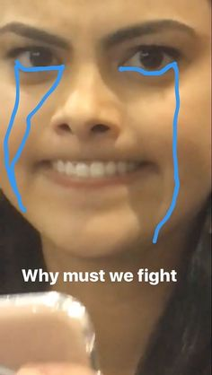 Why must we fight ; Bughead Riverdale, Riverdale Memes, Alice Cooper, Betty Cooper, Camilla Mendes, Im Crazy, I Hate You, Best Memes, Veronica