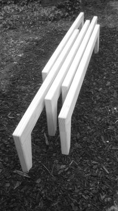 Minimalist Individu Bench Design (Urban Furniture Designs)