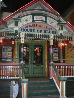 House of Blues - New Orleans.....I was able to see The Blues Travelers here ..Awesome