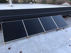 Découvrez l'installation du kit Beem de Lionel sur son toit terrasse ! Kit, Solar Panels, Outdoor Decor, Morning Sun, Solar, Sign, Beginning Sounds, Sun Panels, Solar Power Panels