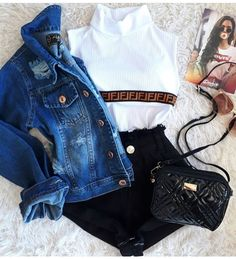 Clueless Outfits, Teen Fashion Outfits, Retro Outfits, Outfits For Teens, Warm Outfits, Casual Winter Outfits, Stylish Outfits, Cute Summer Outfits, Cute Skirt Outfits