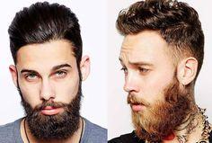 Uomo: barba e tagli di capelli corti-rasati ai lati e lunghi sopra >>> http://www.piuvivi.com/moda-uomo/taglio-capelli-uomo-rasati-corti-lati-lunghi-sopra-undercut-tendenze.html <<<