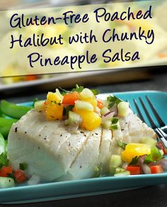 Poached Tilapia With Strawberry-Pineapple Salsa Recipe — Dishmaps