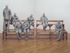 Juxtapoz Magazine - The Sculpture work of Juan Muñoz Sculpture Art, Sculptures, Modern Art, Contemporary Art, Tate Gallery, Spanish Art, Group Art, Art Plastique, Installation Art