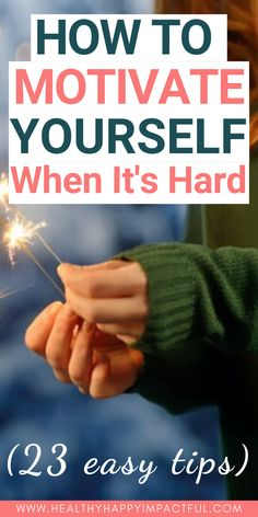 23 Easy tips for how to motivate yourself when it's hard. Motivation to workout, study, productivity with work, and in life. It's not always easy, but change your mindset and you change your life. How to stop procrastinating once and for all. Fit Girl Motivation, Fitness Motivation, Quotes Motivation, Dream Quotes, Quotes Quotes, Life Quotes, Life Coaching Tools, Habits Of Successful People, Thing 1