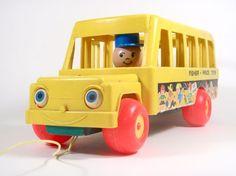 Fisher Price School Bus No. 192