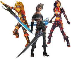 Final Fantasy X-2 Dresspheres: Warrior