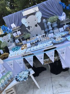 Baby Boy Christening Decorations, Christening Themes, Christening Invitations Boy, Baby Shower Decorations For Boys, Boy Baby Shower Themes, Baby Shower Fun, Baby Shower Parties, Baby Shower Wall Decor, Baby Shower Candy Table