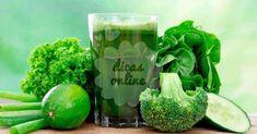 Emagreça naturalmente com esta receita verde, super poderosa!