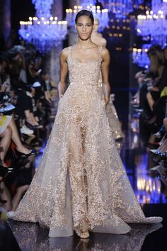 Pin for Later: Feast Your Eyes on the Prettiest Dresses You'll See All Week Elie Saab Haute Couture Fall 2014