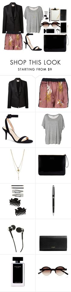 """""""Thursday"""" by tizia26 on Polyvore featuring Jason Wu, Forte Forte, Victoria's Secret, By Malene Birger, Lulu Guinness, Dorothy Perkins, Samsung, Montblanc, Sennheiser and Coach"""