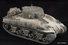 North African Tasca M4A1 Lima Sherman