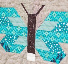 Fancy Forest Quilt Kit by Elizabeth Hartman featuring Robert Kaufman Pacific Fabric
