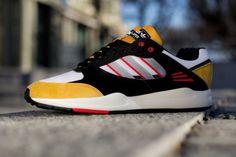 """adidas Tech Super """"Goldenrod"""" - Sneaker Freaker"""