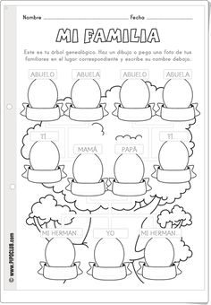 See 14 Best Images of This Is My Family Worksheet. Inspiring This Is My Family Worksheet worksheet images. My Family Worksheet Kindergarten My Family Preschool Worksheet My Family Preschool Worksheet My Family Worksheet About My Family Worksheet Spanish Classroom Activities, Preschool Spanish, Elementary Spanish, Kindergarten Worksheets, Spanish Worksheets, Spanish Projects, Spanish Lessons For Kids, Spanish Teacher, Teaching Spanish