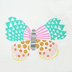 Studio Sjoesjoe: New neon butterflies coming up