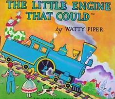 The Little Engine That Could...a CHILDHOOD FAVORITE!