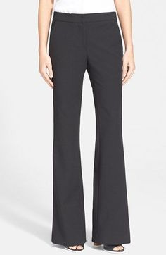 Tibi+Bootcut+Pants+available+at+#Nordstrom