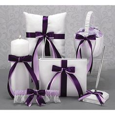 You can choose your two ribbon colors. It's shown with grape and lilac, but you could replace the lilac with lime.