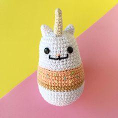 Gaticornio Donut - amigurumi hecho por Florencia Rodríguez para Kitsune Shop  #crochet #amigurumi #caticorn #cute