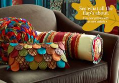 Great idea to repurpose all those old ties in hubby's closet. However . . . you can buy these @Pier1 http://www.pier1.com/catalog/browse/0600.rugs-pillows-windows?utm_source=Email_Marketing_US&utm_medium=Email&utm_content=Main-Image&utm_campaign=20110930_Email_HomeTextiles