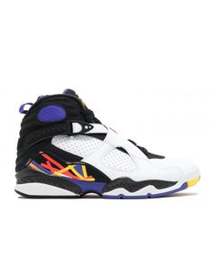 buy popular d0f3e 8229c Air Jordan 8 Retro 3peat White Infrrd 23 Blk Brght Cncr 305381 142 Jordan  Shoes For