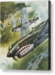 Famous Aircraft And Their Pilots Painting by Wilf Hardy - Famous Aircraft And Their Pilots Fine Art Prints and Posters for Sale