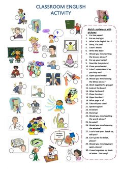Classroom language interactive and downloadable worksheet. You can do the exercises online or download the worksheet as pdf.