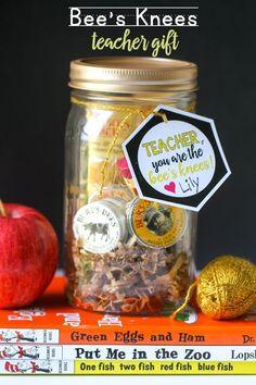 Bee's Knees Teacher Gift