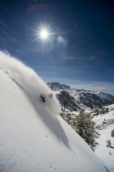 Deep Powder - skiing