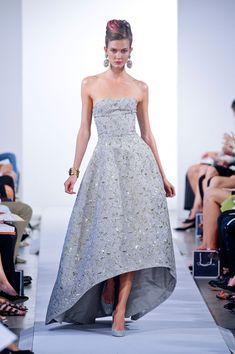 Best Spring 2013 Runway Gowns - Oscar de la Renta