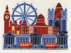 DMC-Counted-Cross-Stitch-Kit-London-Scene