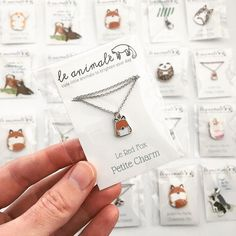 #Repost @leanimale  Packing a lot of cuties from your orders this weekend! Thanks everyone! I love these little petite necklaces - so small and cute! The cards have a description on the back about the animal's lessons for you. I have fox wolf sloth and corgi available individually or as a BFF listing so you can get one for you and one for your friend!  Find them at leanimale.com and leanimale.etsy.com. Happy Monday! #leanimale    (Posted by https://bbllowwnn.com/) Tap the photo for purchase…