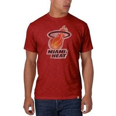 Other Basketball Clothing 158974: Nba Miami Heat Mens Scrum Tee, Rescue Red, Medium BUY IT NOW ONLY: $62.73