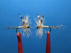 Adams #12 (A matched pair) /  Tied by Jim Hershey