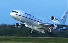 L-1011 Stargazer Takes Off with CYGNSS, Pegasus XL Rocket