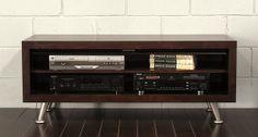 Galaxy (Mocha) - MidCentury Modern TV Stand Console | Flickr - Photo Sharing!