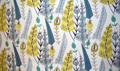 Post-War British Textiles  In the years after WWII three female textile designers injected new life into British Textiles. London's Fashion and Textile Museum is currently holding an exhibition entitled Designing Women: Post-War British Textiles