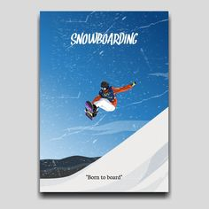 Snowboarding poster artwork design by Cocographic  Available now at displate Artwork Design, Travel Posters, Snowboarding, Poster Prints, Movie Posters, Snow Board, Film Poster, Popcorn Posters, Film Posters